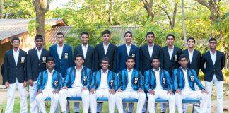 S. Thomas' College Cricket Team 2018