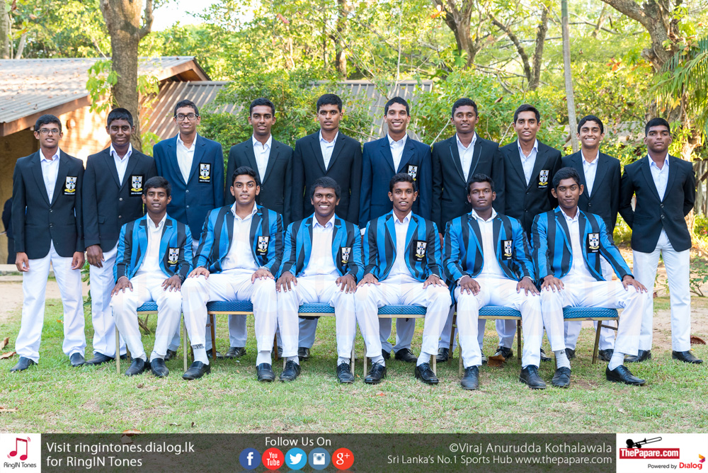 S. Thomas' College Cricket Team 2018