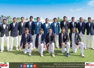 S.Thomas' College Cricket Team 2017