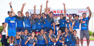 S.Thomas schools rugby 7s title winner