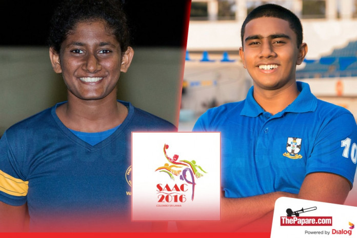 Ashane Francis & Shaleena Peiris to lead Sri Lanka Junior Water polo teams