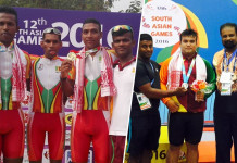 Cycling, Weightlifting wins two Silvers and two Bronze Medals - #SAG2016 Day 3