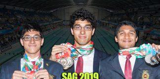 SAG swimming