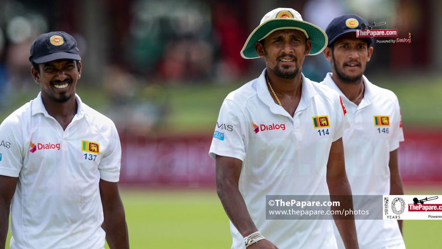 SAvSL Test series review