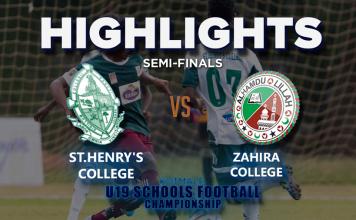 Highlights - St Henry's v Zahira