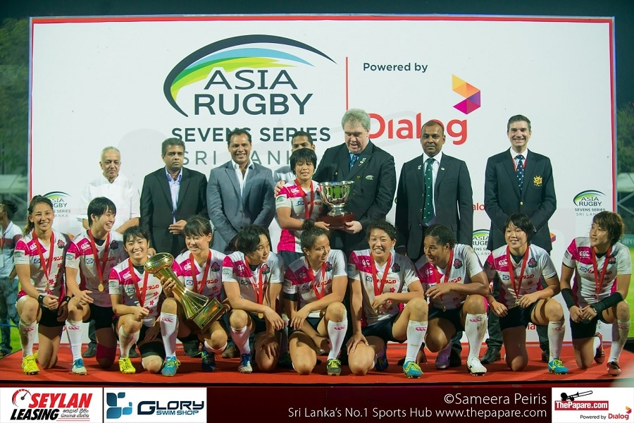 Japan Womens Rugby Team - Asia Rugby 7s Champions 2016