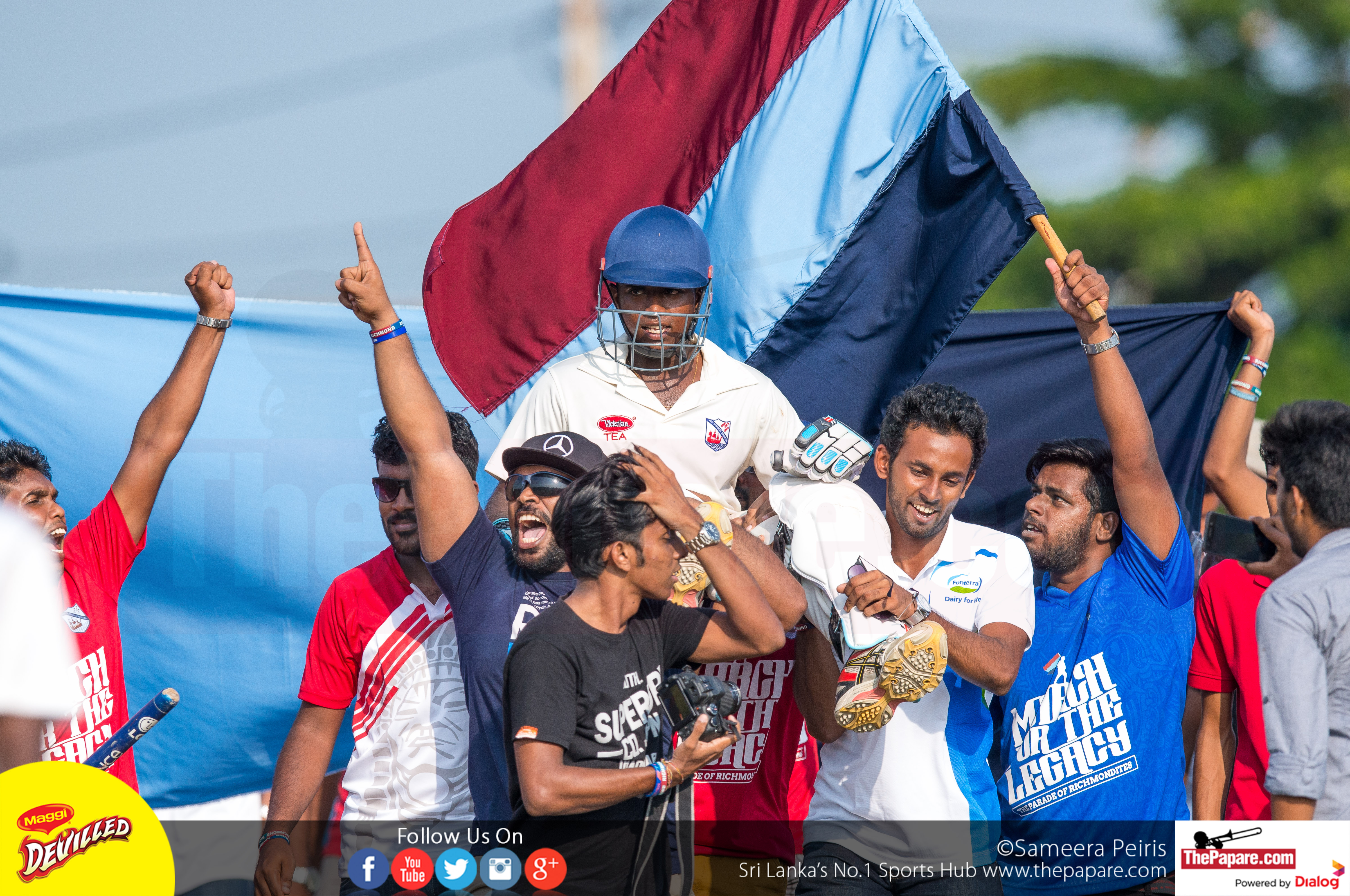 Charith Asalanka century pioneers Richmond to victory
