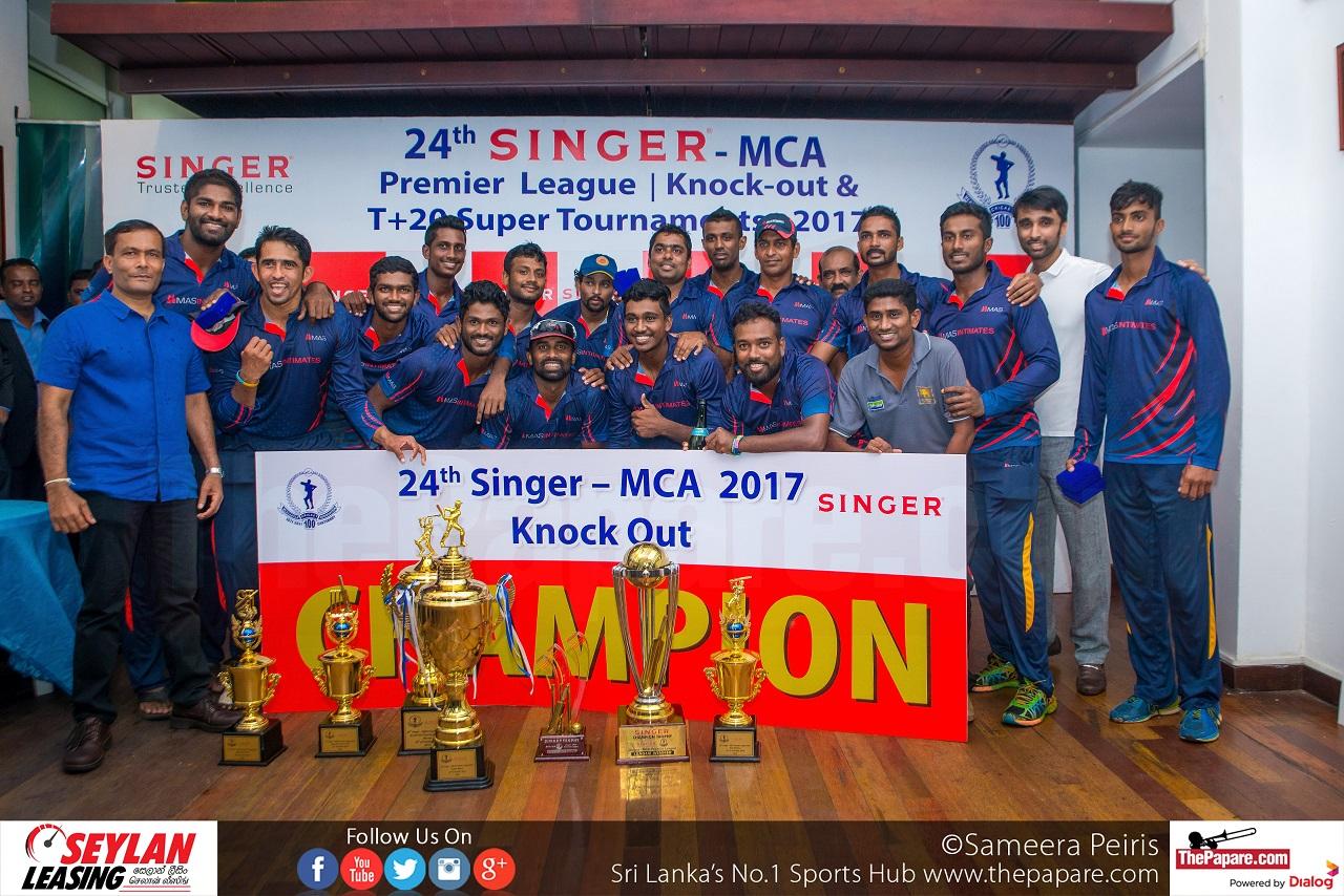 Chamara Silva leads MAS Unichela to Singer-MCA Knockout Trophy