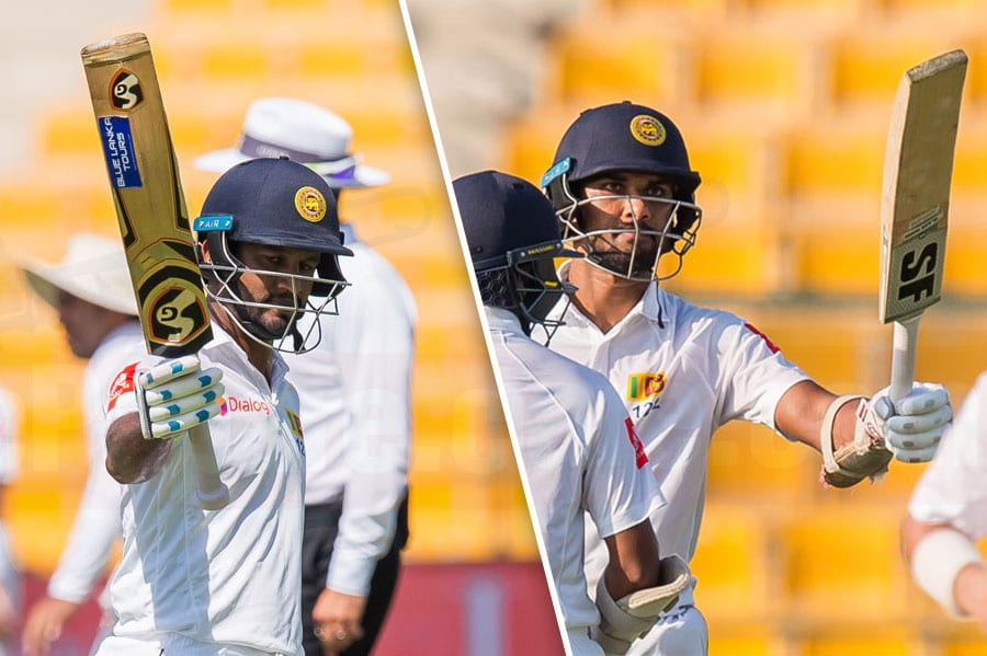 Sri Lanka grind hard to take honours on tough opening day