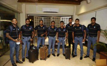 Sri Lanka Team Departure for England 202
