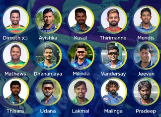 Sri Lanka CWC19 squad edition