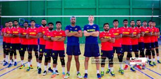 Sri Lanka National Men's Volleyball team
