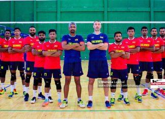Sri Lanka National Men's Volleyball team