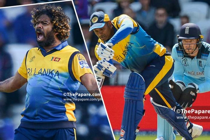 ICC Cricket World Cup Lasith Malinga and Angelo Mathews