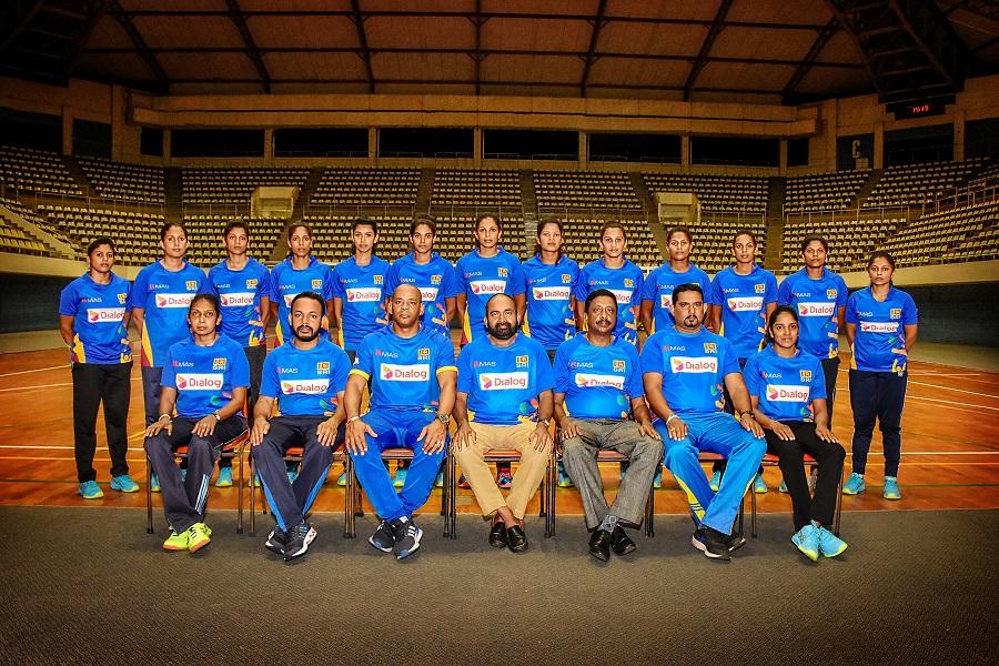 SL women VB team