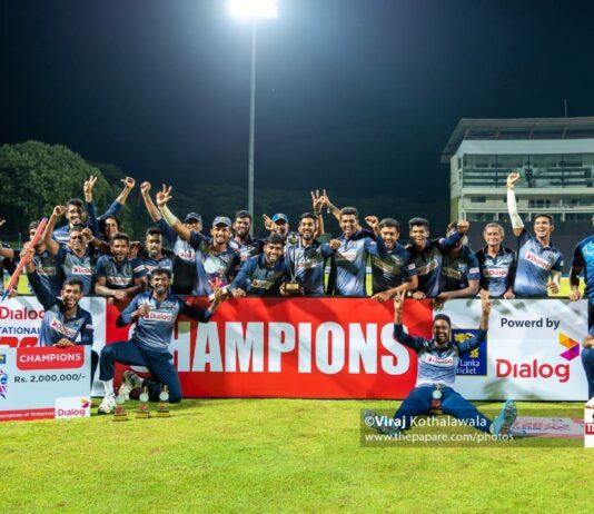 SLC Greys crowned Dialog-SLC Invitational T20 Champions