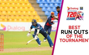 Best run-outs in Dialog-SLC Invitational T20 League 2021