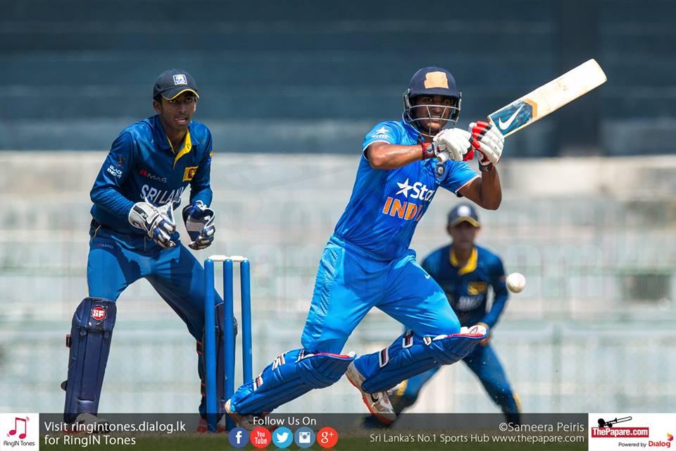 India U19 tour of Sri Lanka 2018