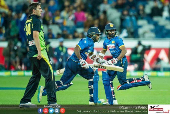 Sri Lanka squad for Australia tour 2019