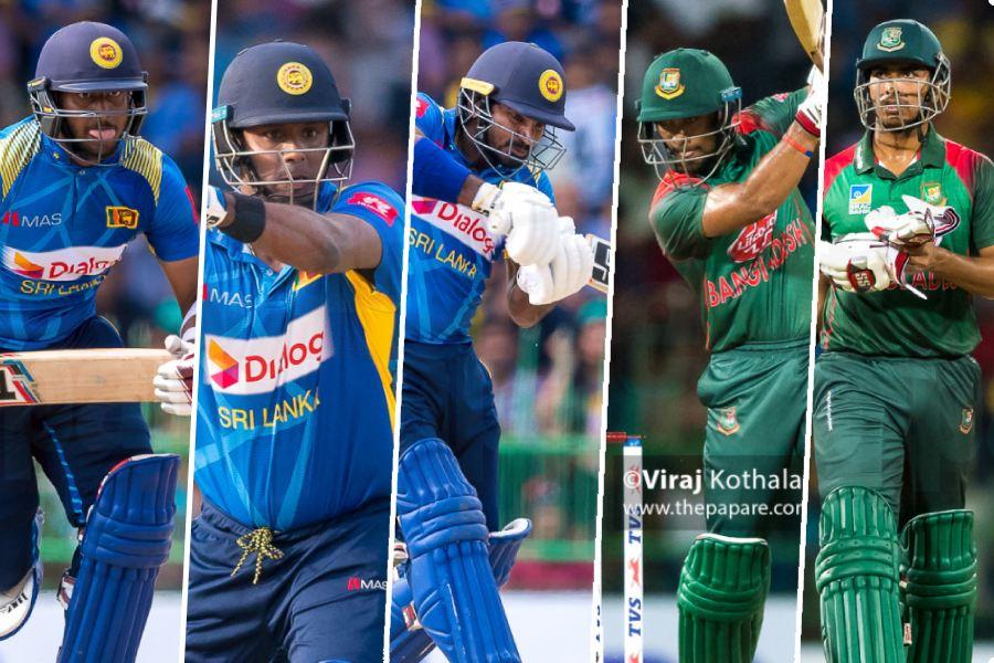 Sri Lanka vs Bangaldesh - 2nd ODI