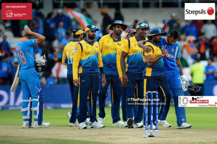 India tour of Sri Lanka