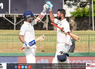 SLvIND 2nd Test Day 1