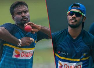 Sri Lanka Test squad vs India