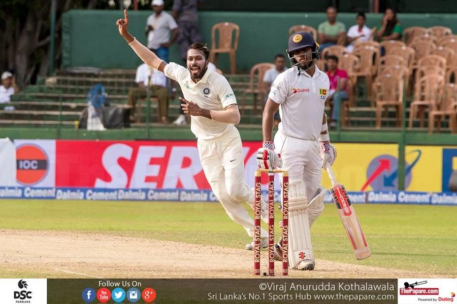 India outplay Sri Lanka to win Test series