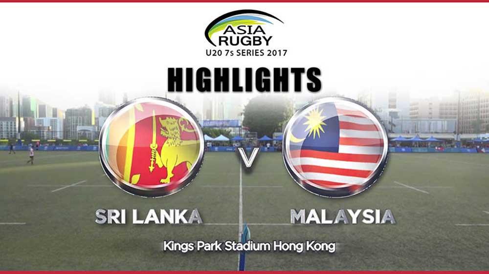 Sri Lanka vs Malaysia - Asia Rugby U20 Sevens