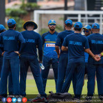 Sri Lanka Team Practices ahead of Zimbabwe Test