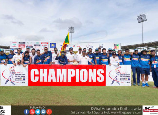 SLvZIM test series winner 2017