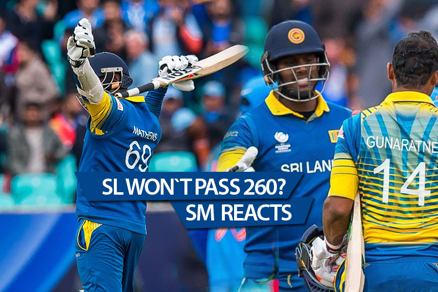Sri Lanka stun india - SM reacts