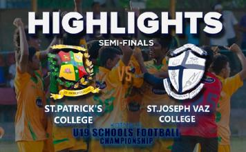 Highlights - St.Patrick's v St.Joseph Va