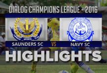 Highlights - Saunders SC v Navy SC - Champions League 2016