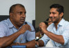 Aravinda and Sangakkara