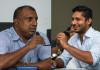 Aravinda and Sangakkara