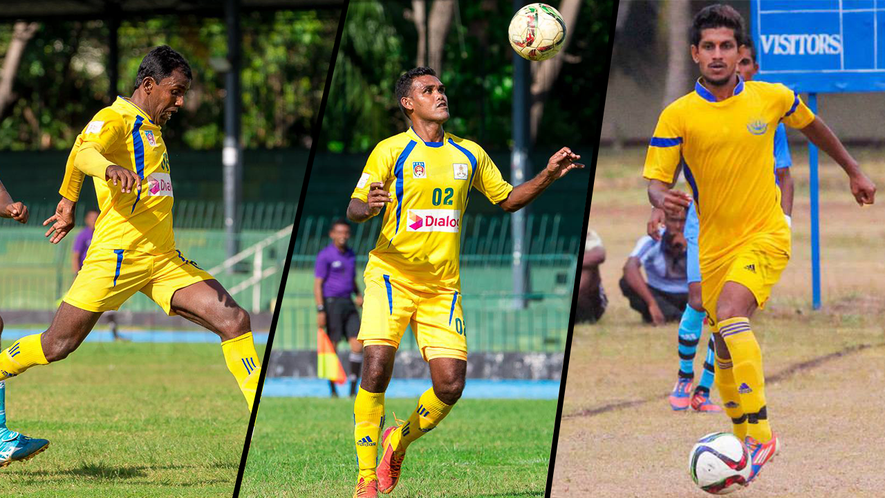 Sanka, Dumidu, Issadeen back in National colours