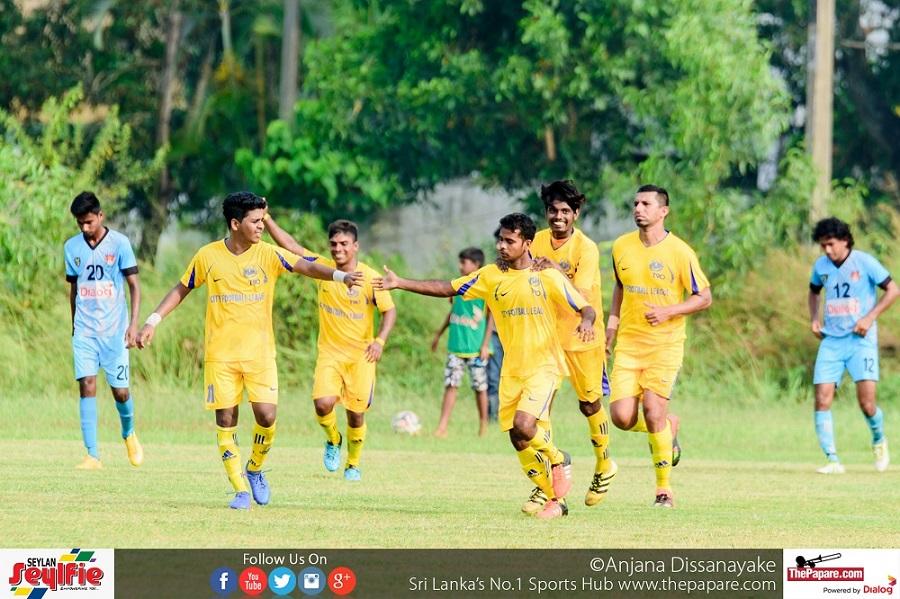 Saunders V Negombo Youth