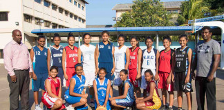 Schools Basketball Team 2017