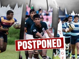 Schools Rugby Matches Postponed