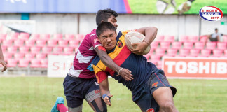 Science College vs Trinity College - Schools Rugby 2017