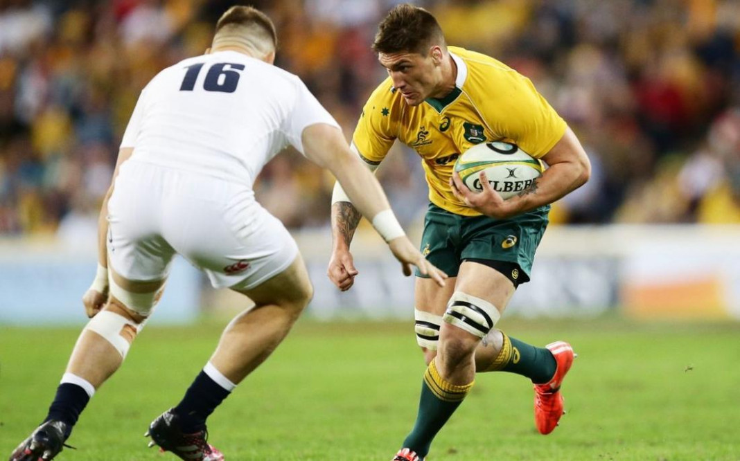 Australia v England: Wallabies change both props for second Test