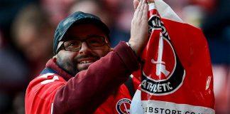Charlton Super Fan Seb Lewis