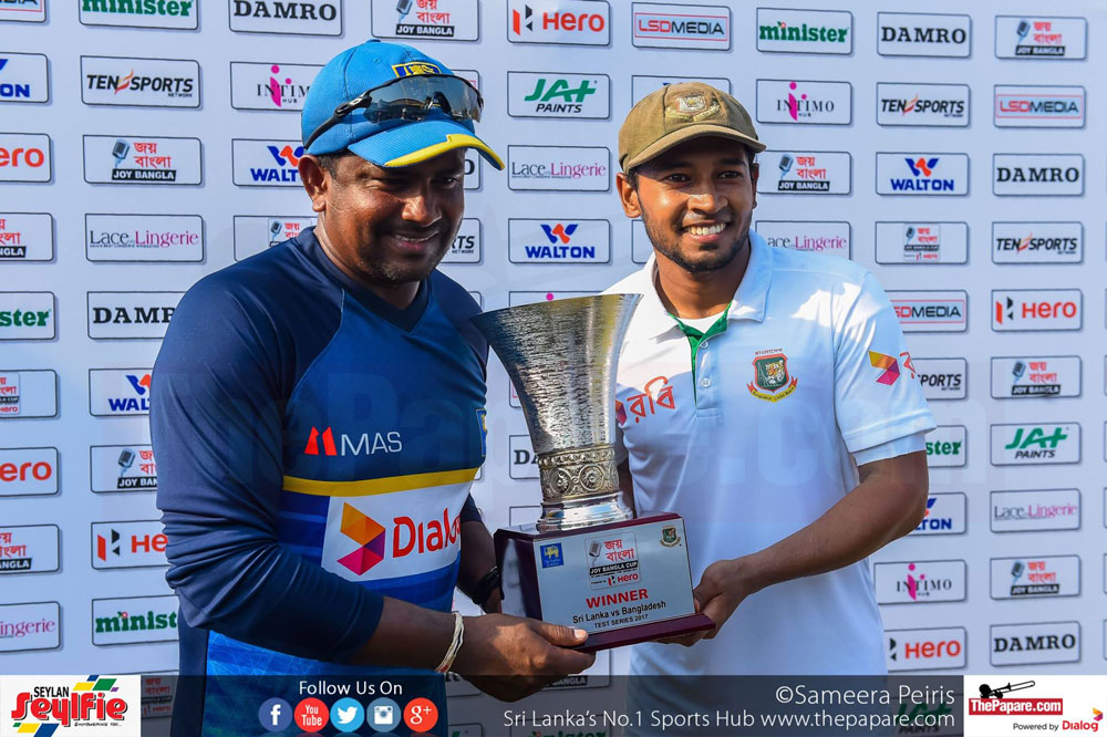 SL vs BAN second test day