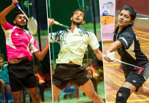 Seven shuttlers off to China