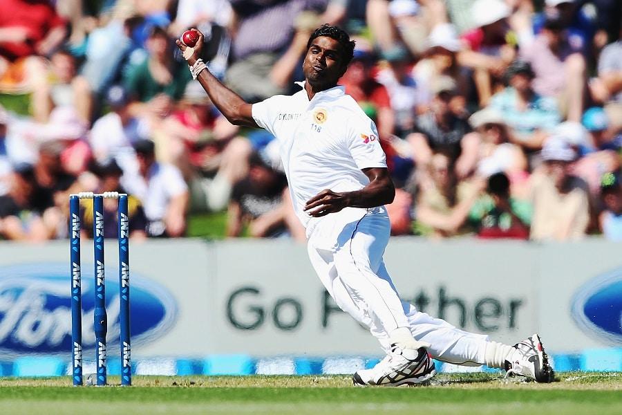 Shaminda Eranga suspended from bowling