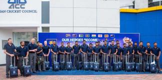 Sl team departure 2017