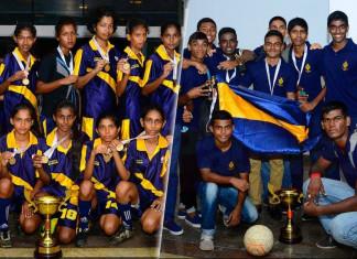 U19 div II final & girls final