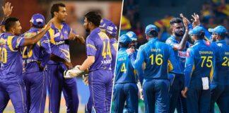 Sri Lanka vs Sri Lanka legends