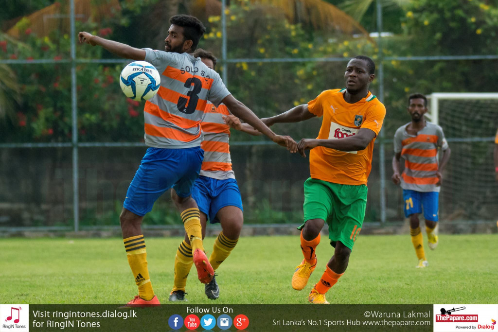 Solid SC's Afis Olayemi in action - FA Cup (Last 32 Round)